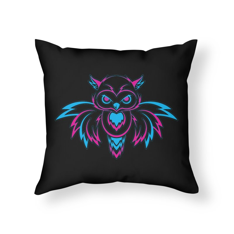 Seeker Home Throw Pillow by redmunky's Artist Shop