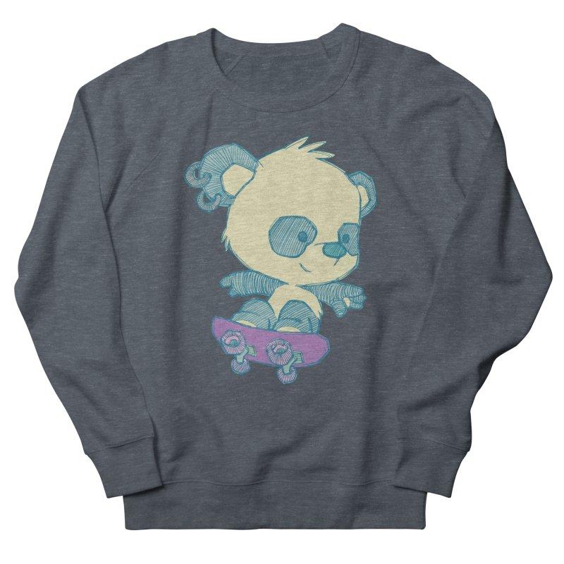 PandaSk8 Men's Sweatshirt by redmunky's Artist Shop