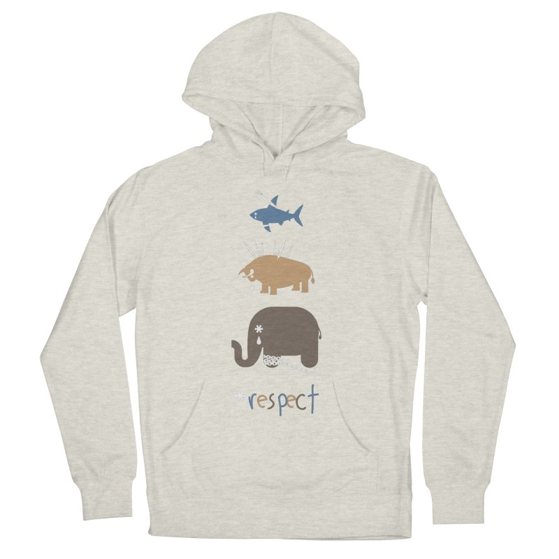 Respect Women's Pullover Hoody by redmunky's Artist Shop