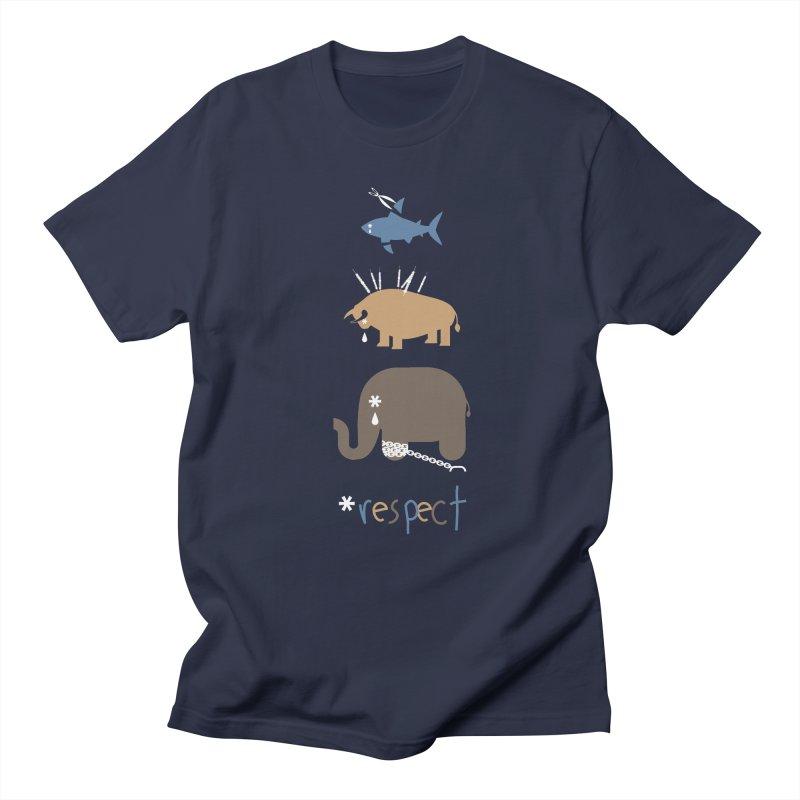 Respect Men's T-Shirt by redmunky's Artist Shop