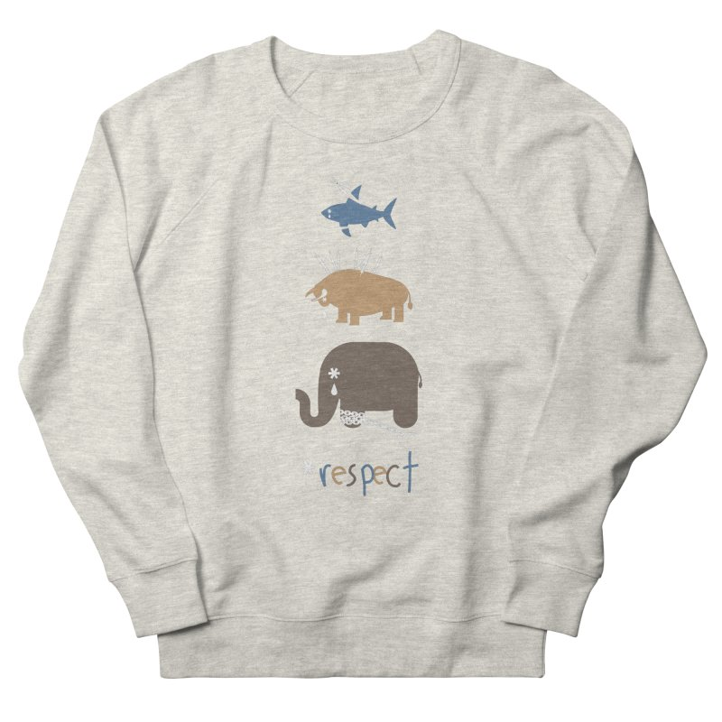 Respect Women's Sweatshirt by redmunky's Artist Shop