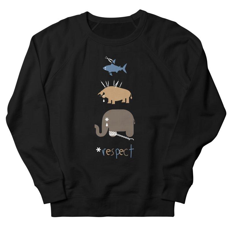 Respect Men's Sweatshirt by redmunky's Artist Shop