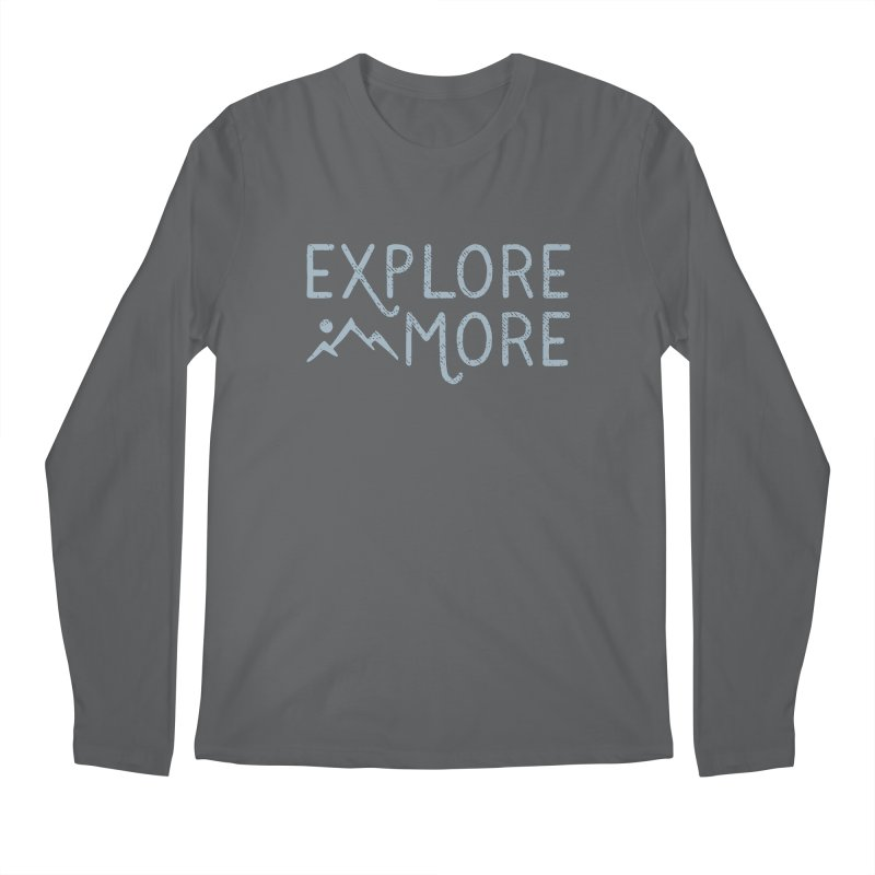Explore More Men's Longsleeve T-Shirt by Red Pixel Studios