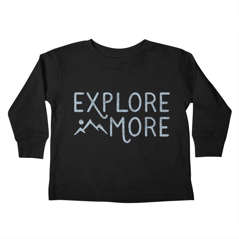 Explore More Kids Toddler Longsleeve T-Shirt by Red Pixel Studios
