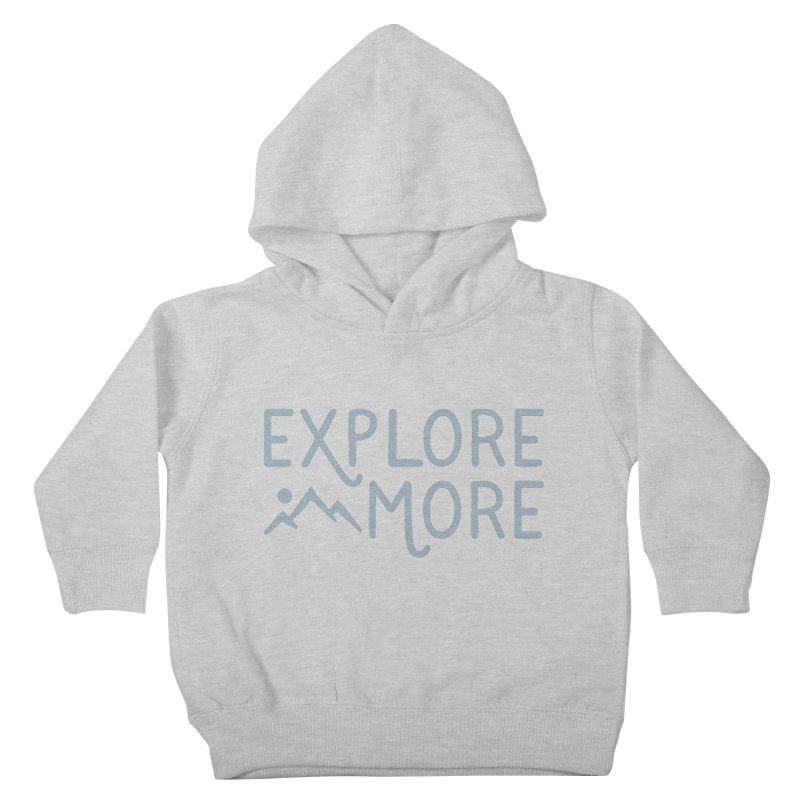 Explore More Kids Toddler Pullover Hoody by Red Pixel Studios