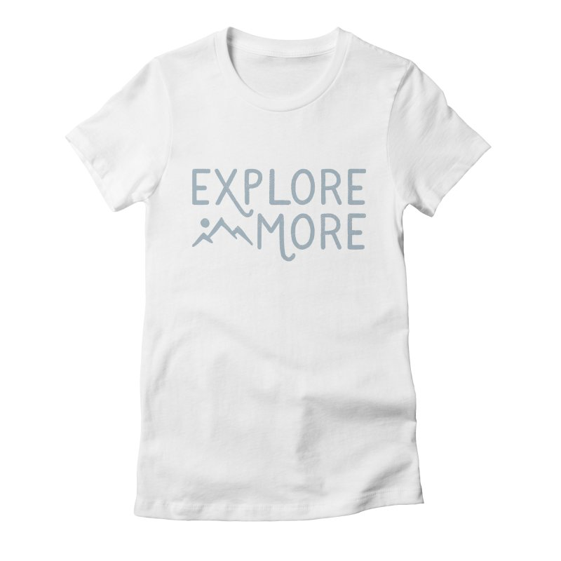 Explore More Women's Fitted T-Shirt by Red Pixel Studios