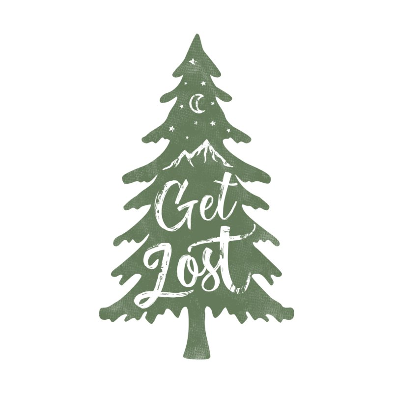 Get Lost Men's T-Shirt by Red Pixel Studios