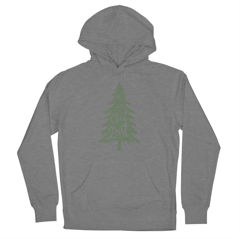 Get Lost Women's Pullover Hoody by Red Pixel Studios