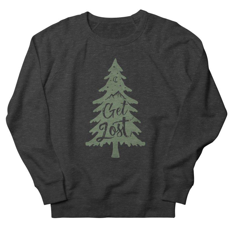 Get Lost Women's French Terry Sweatshirt by Red Pixel Studios