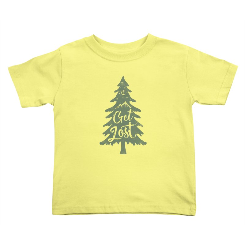Get Lost Kids Toddler T-Shirt by Red Pixel Studios