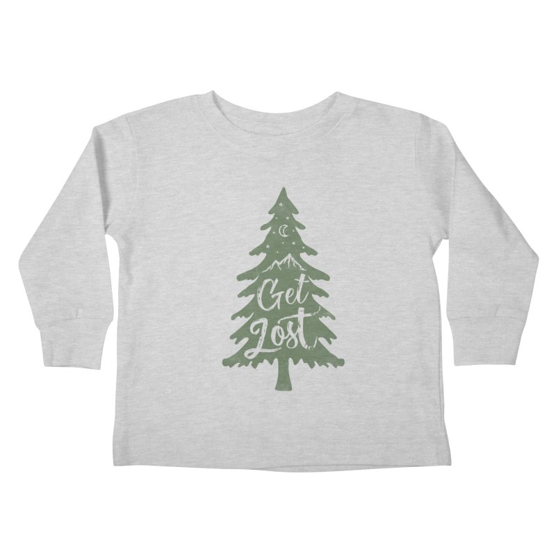 Get Lost Kids Toddler Longsleeve T-Shirt by Red Pixel Studios