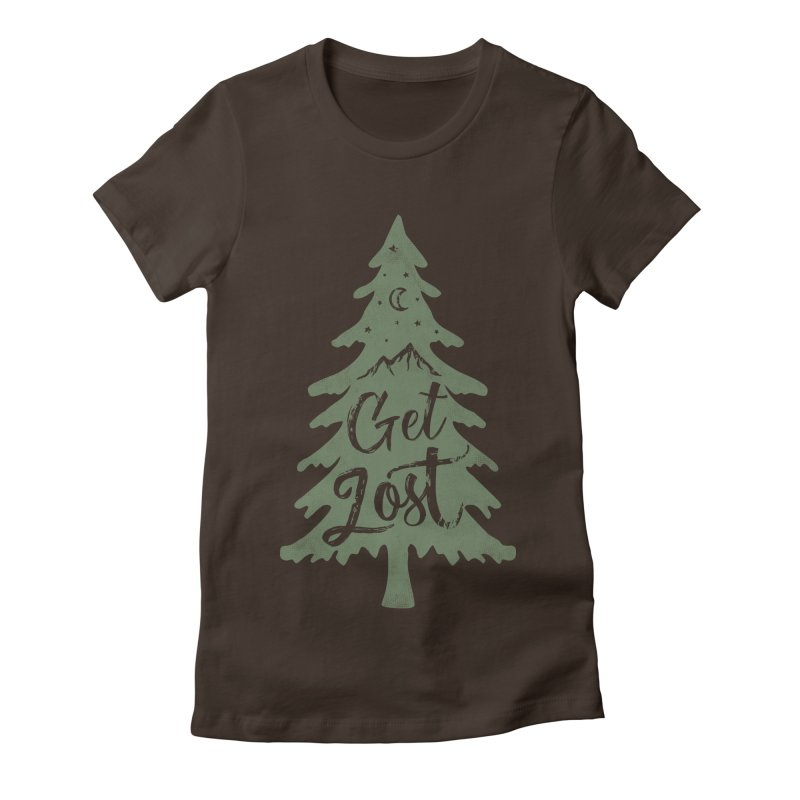 Get Lost Women's T-Shirt by Red Pixel Studios