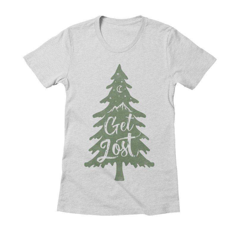 Get Lost Women's T-Shirt by Red Pixel Studios
