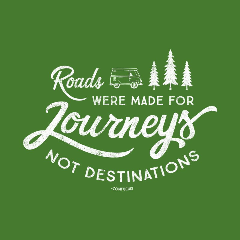 Roads Were Made For Journeys Women's Longsleeve T-Shirt by Red Pixel Studios