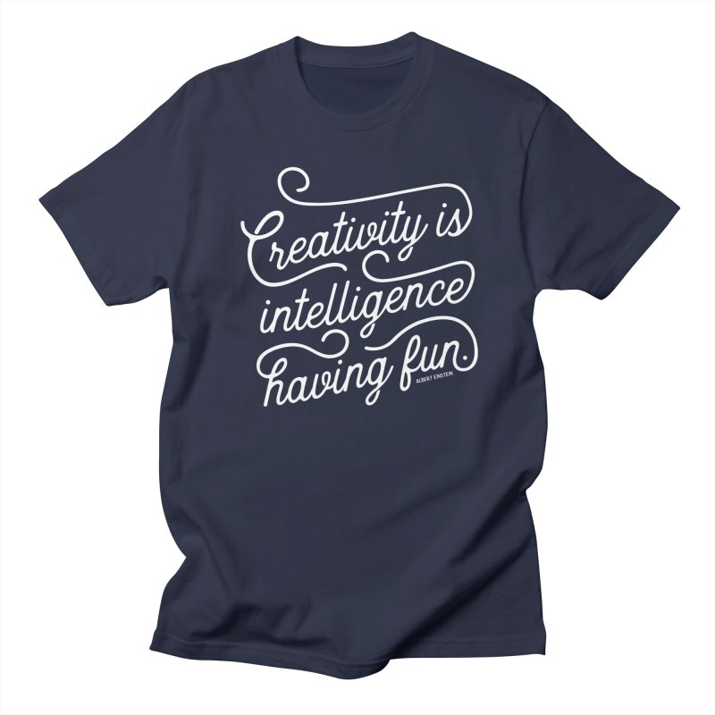 Creativity Women's T-Shirt by Red Pixel Studios