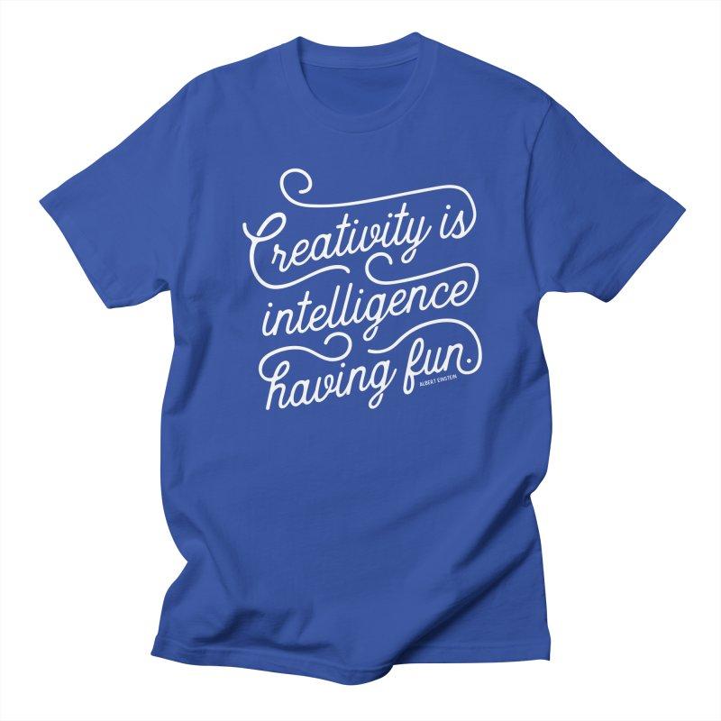 Creativity Men's Regular T-Shirt by Red Pixel Studios