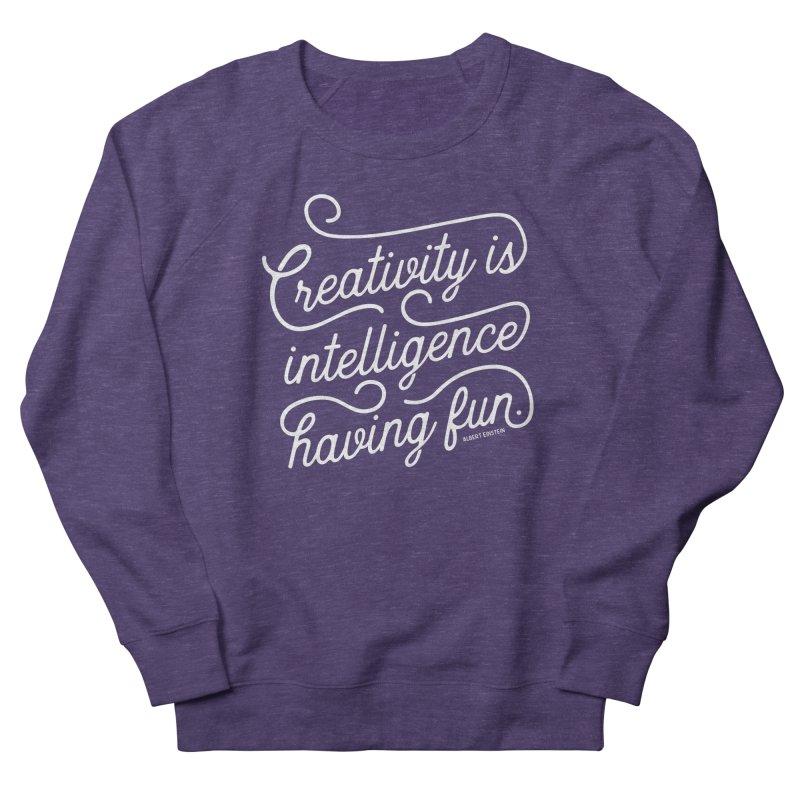 Creativity Women's French Terry Sweatshirt by Red Pixel Studios