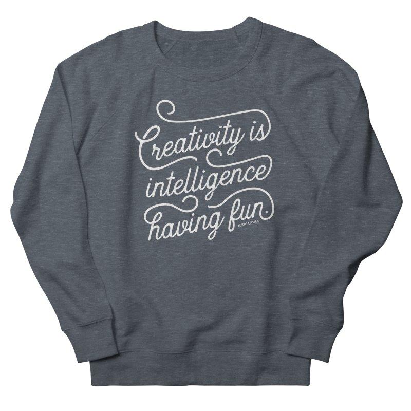 Creativity Men's French Terry Sweatshirt by Red Pixel Studios