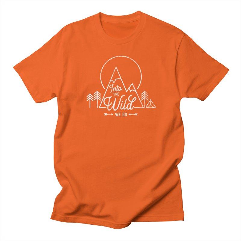 Into the Wild We Go Men's Regular T-Shirt by Red Pixel Studios