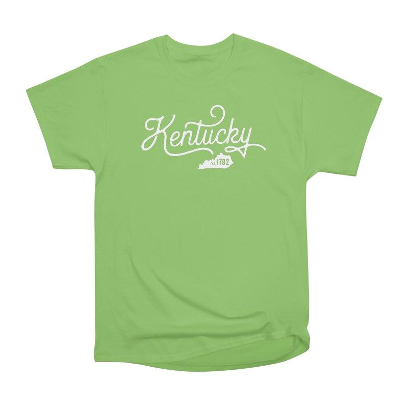 Kentucky 1792 Men's Heavyweight T-Shirt by Red Pixel Studios