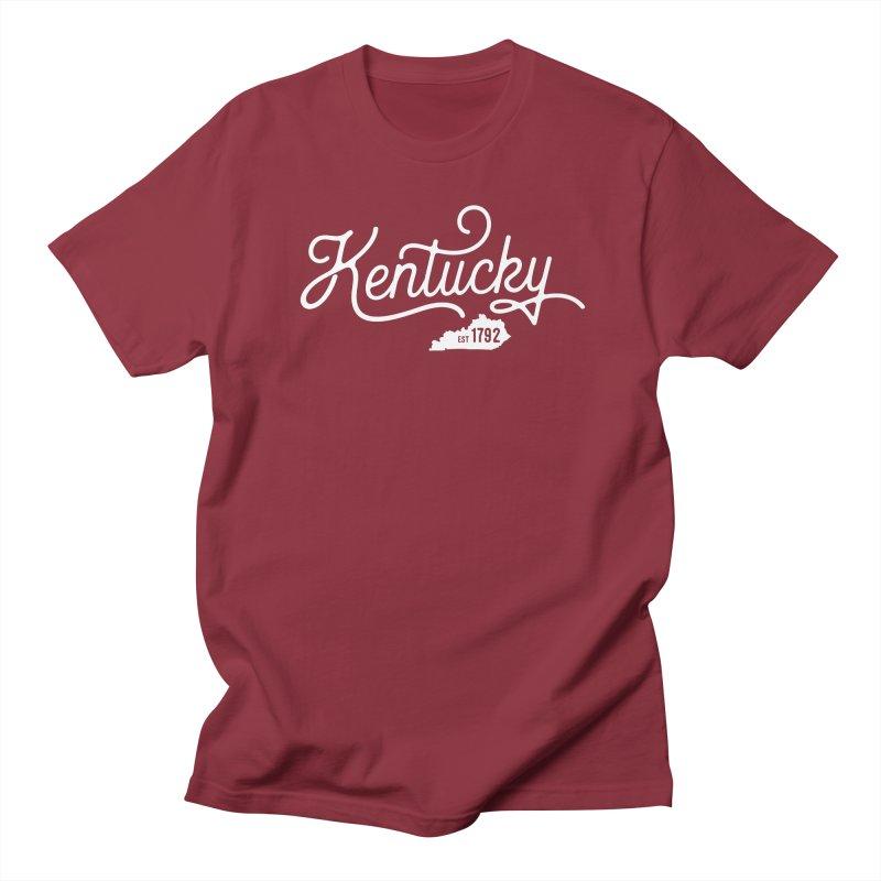 Kentucky 1792 Men's Regular T-Shirt by Red Pixel Studios