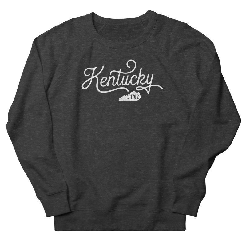 Kentucky 1792 Men's French Terry Sweatshirt by Red Pixel Studios