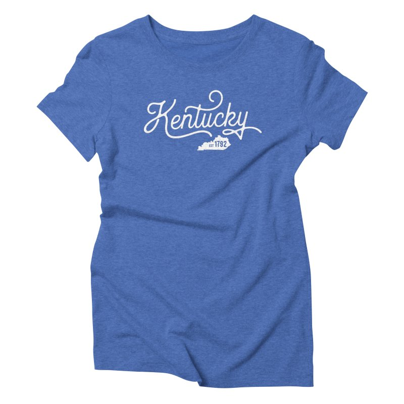 Kentucky 1792 Women's Triblend T-Shirt by Red Pixel Studios