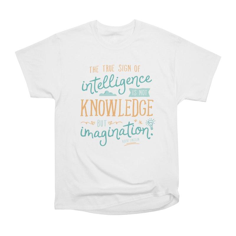 True Sign of Intelligence Women's T-Shirt by Red Pixel Studios