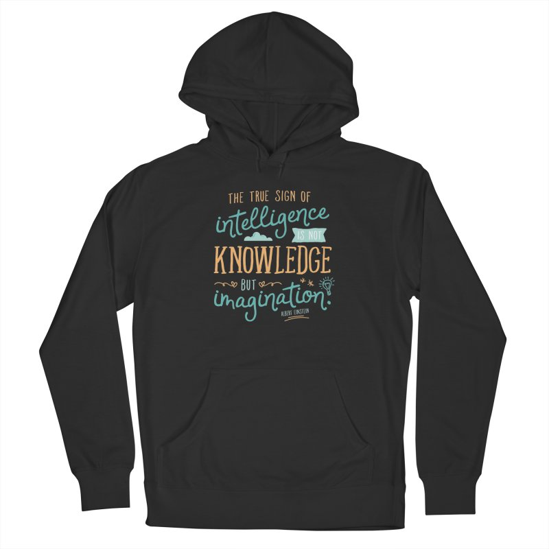 True Sign of Intelligence Men's Pullover Hoody by Red Pixel Studios