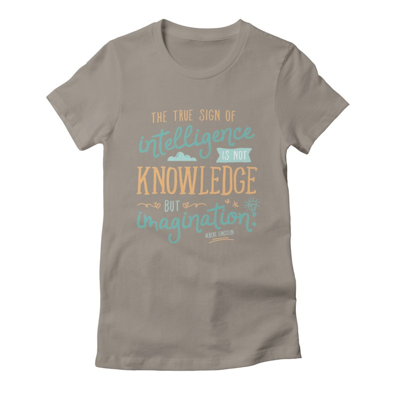 True Sign of Intelligence Women's T-Shirt by Red Pixel Studios