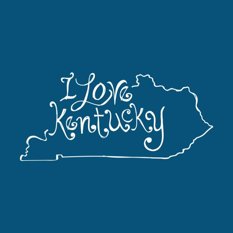 I Love Kentucky Women's T-Shirt by Red Pixel Studios