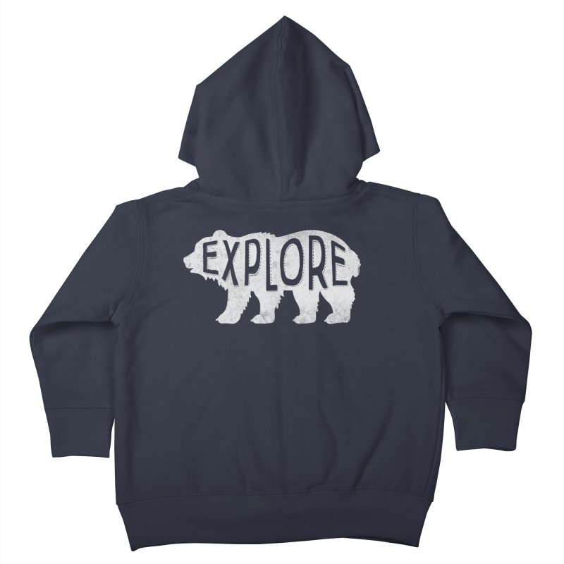 Explore Kids Toddler Zip-Up Hoody by Red Pixel Studios