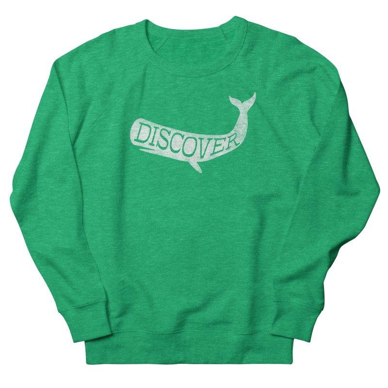 Discover Women's Sweatshirt by Red Pixel Studios