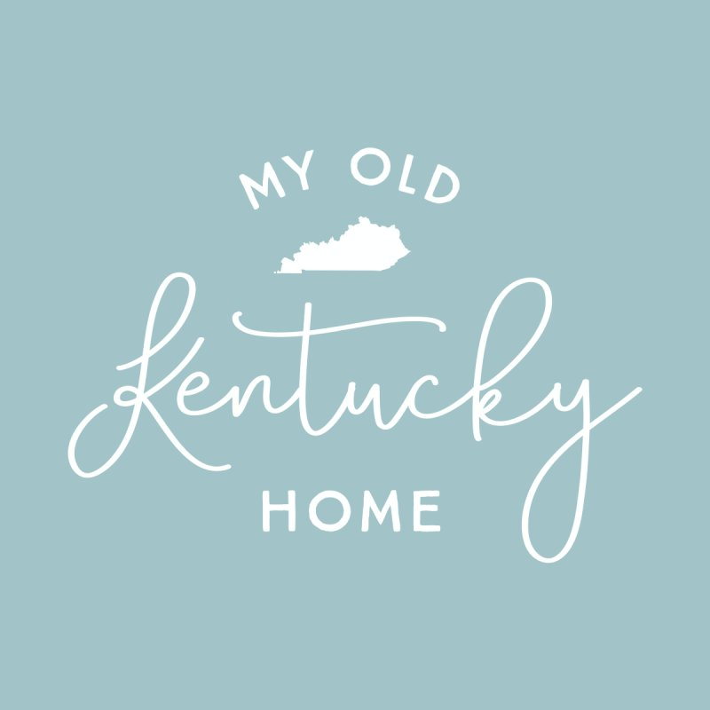 My Old Kentucky Home Kids T-Shirt by Red Pixel Studios