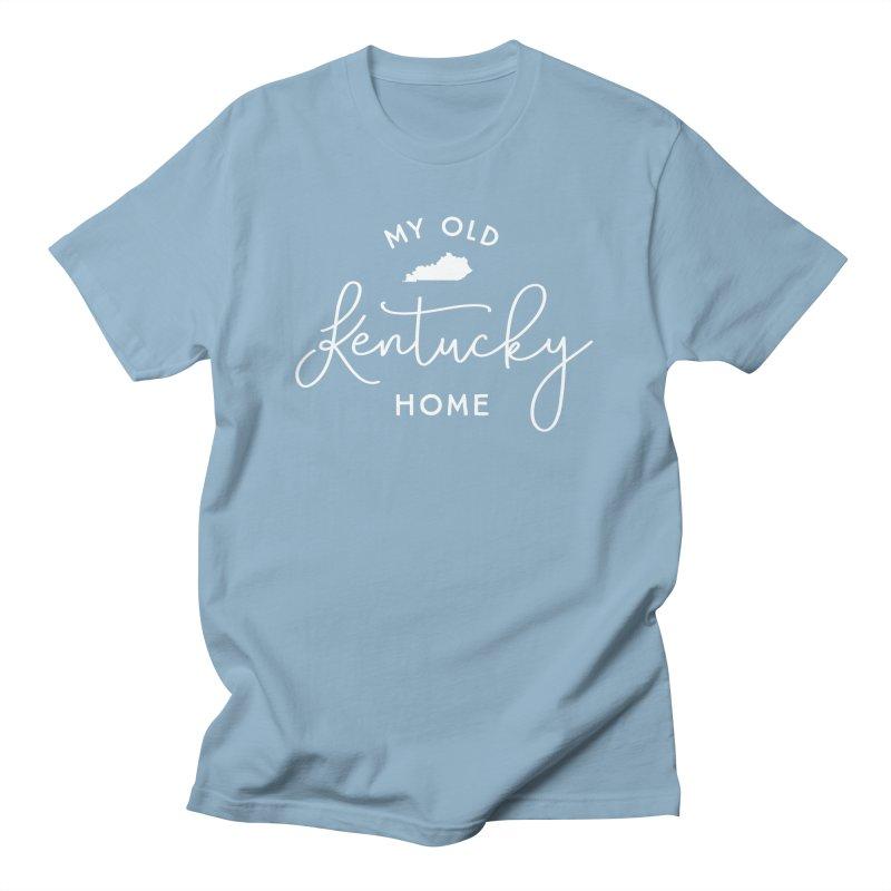 My Old Kentucky Home Men's T-Shirt by Red Pixel Studios