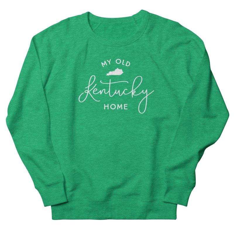 My Old Kentucky Home Women's Sweatshirt by Red Pixel Studios