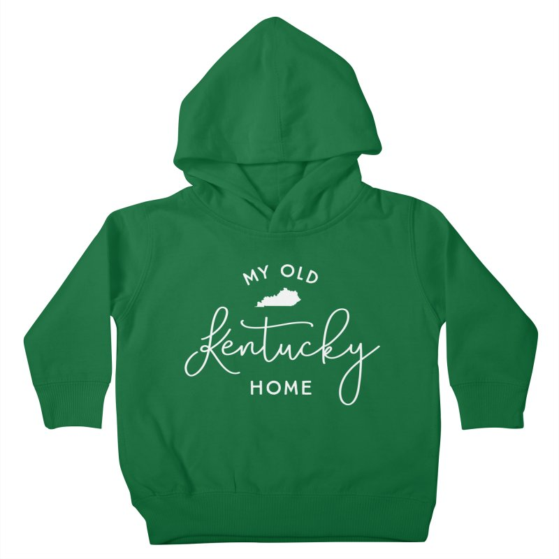 My Old Kentucky Home Kids Toddler Pullover Hoody by Red Pixel Studios