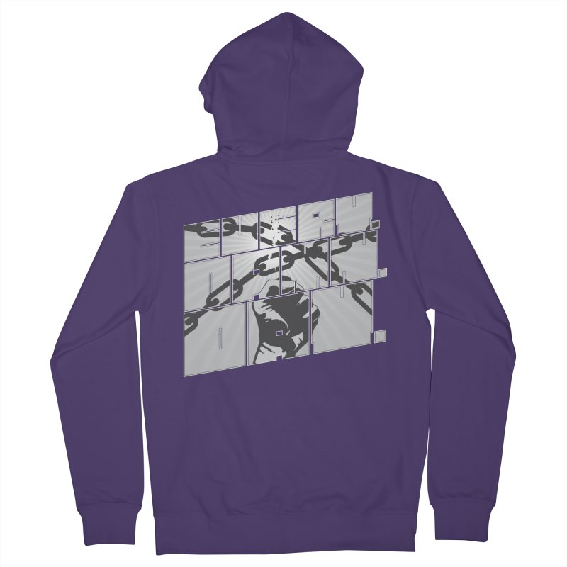 Every. Damn. Day. Women's French Terry Zip-Up Hoody by Red Robot