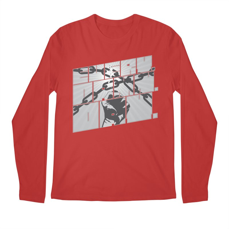 Every. Damn. Day. Men's Longsleeve T-Shirt by Red Robot