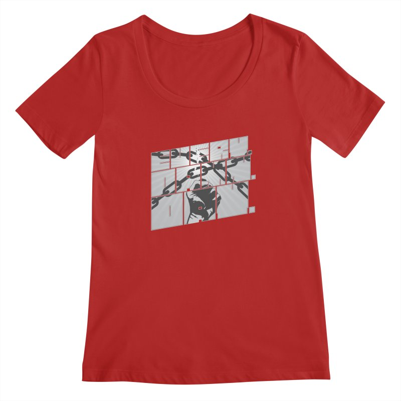 Every. Damn. Day. Women's Scoopneck by Red Robot
