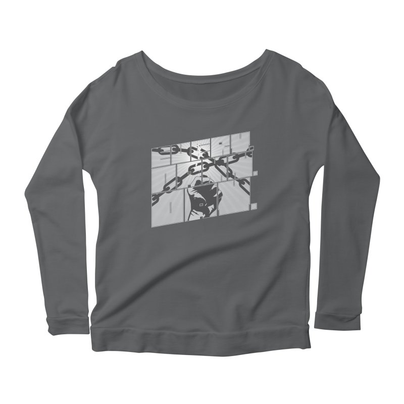 Every. Damn. Day. Women's Scoop Neck Longsleeve T-Shirt by Red Robot