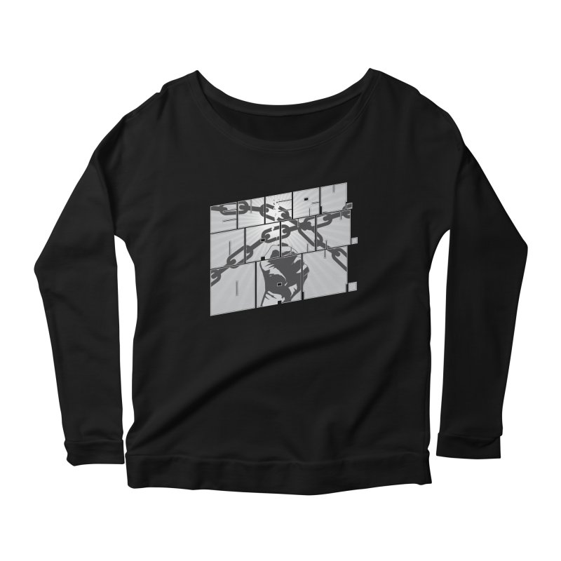Every. Damn. Day. Women's Longsleeve Scoopneck  by Red Robot
