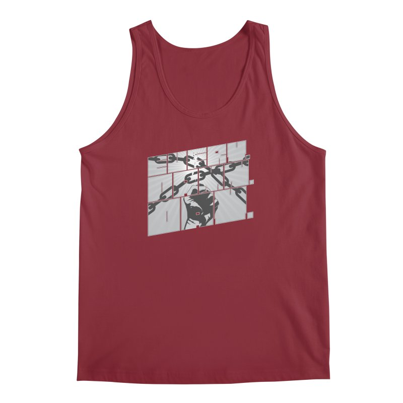 Every. Damn. Day. Men's Regular Tank by Red Robot