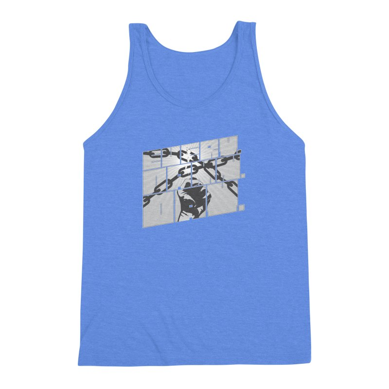 Every. Damn. Day. Men's Triblend Tank by Red Robot