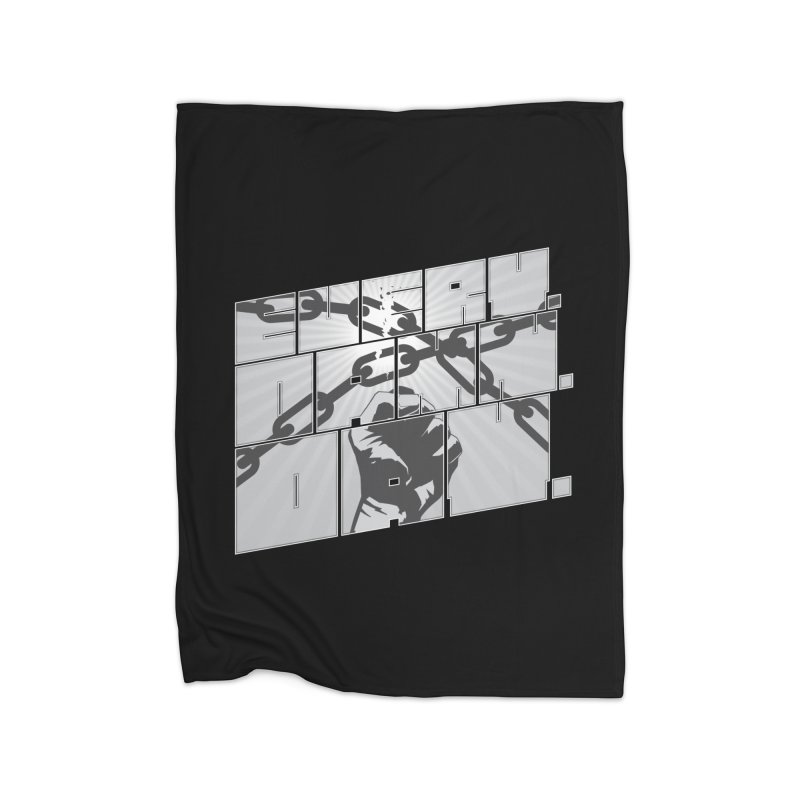 Every. Damn. Day. Home Fleece Blanket Blanket by Red Robot
