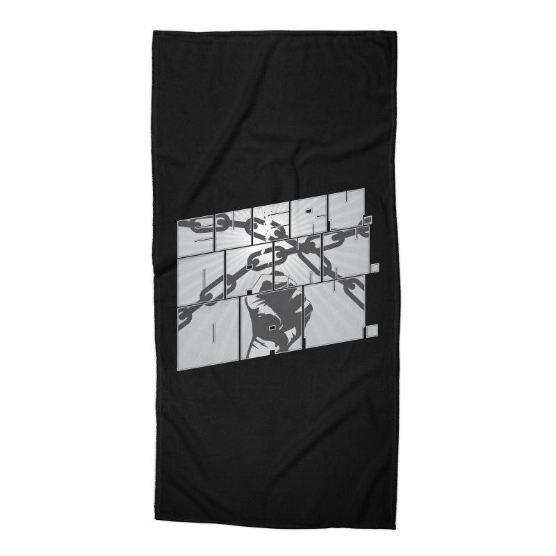 Every. Damn. Day. Accessories Beach Towel by Red Robot