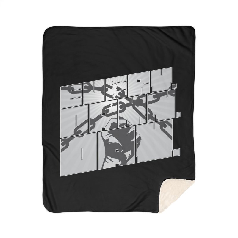 Every. Damn. Day. Home Sherpa Blanket Blanket by Red Robot