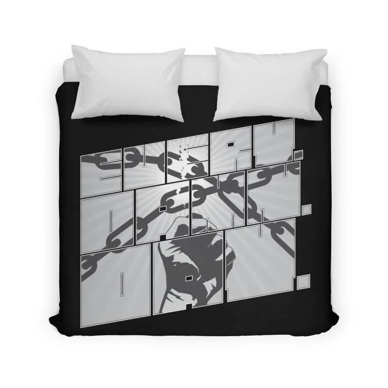 Every. Damn. Day. Home Duvet by Red Robot