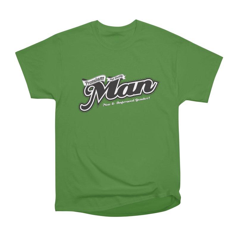 Premium High-quality Man Men's Classic T-Shirt by Red Robot