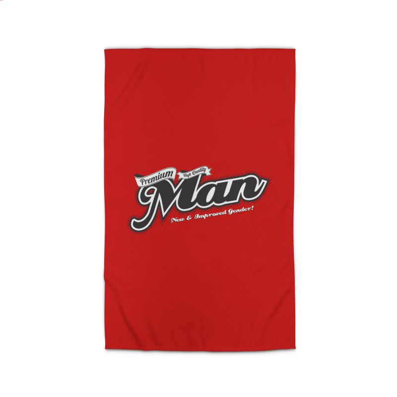 Premium High-quality Man Home Rug by Red Robot